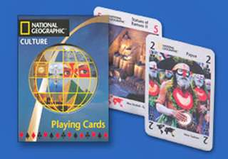 NATIONAL GEOGRAPHIC PLAYING CARD (CULTURE)