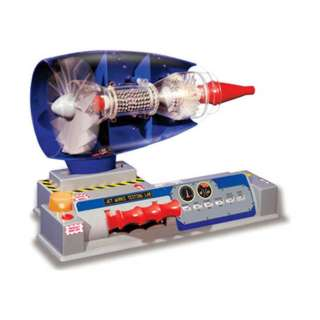 WORKING MODEL OF A JET ENGINE BATTERY OPERATED