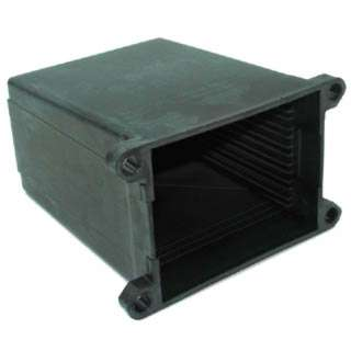 PROJECT BOX 2.6X3.5X2IN PLAS BASE M