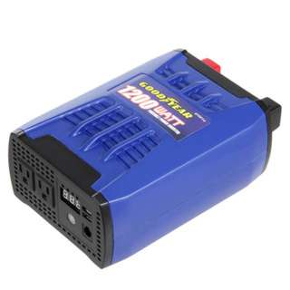 INVERTER DC/AC 1200WATTS DUAL AC OUTLET & 2 USB PORTS