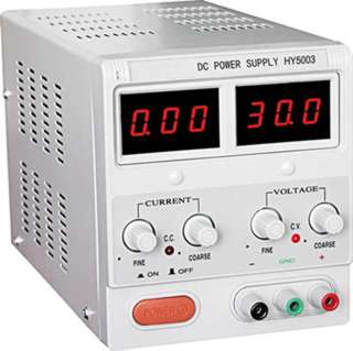 PSU SW 0-50VDC 0-3A BENCHTOP IP:120VAC DIGITAL DISPLAY