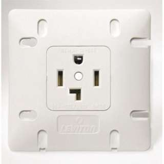 ELECTRICAL RECEPTACLE 30A/250V NEMA 14-30R WHT FOR DRYER