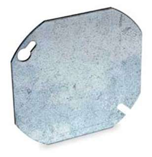 ELECTRICAL BOX COVER 4 INCH OCTAGON