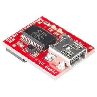 FTDI BREAKOUT BOARD WITH 3.3V USB FOR ARDUINO