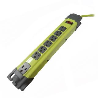POWER BAR 7 O/LET 6FT CORD SURGE PROTECT