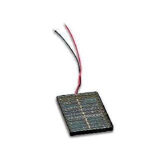 SOLAR CELL 1V 200MA 1.8X3IN W/LEADS