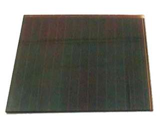 SOLAR PANEL 6V 20MA 6X6IN GLASS UNMOUNTED