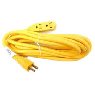 EXTENSION CORD 2/16 65.6FT YEL 3 OUTLETS