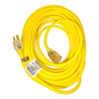EXTENSION CORD 3/16 100FT SJTW YELLOW