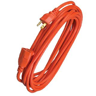 EXTENSION CORD 3/16 10FT SJTW ORANGE