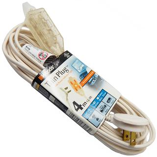 EXTENSION CORD 2/16 13FT RA 13A 125V 1625W 3 OUTLETS