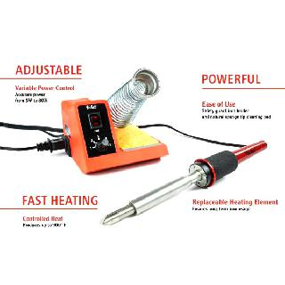 SOLDERING STATION 5-80W STAINED GLASS