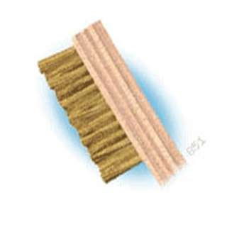 CLEANING BRUSH BRASS BRISTLES 7-3/4IN LONG