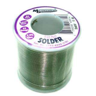 SOLDER WIRE 63/37 REGULAR 1LB 22AWG 0.032IN RA CORE