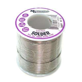SOLDER WIRE 63/37 REGULAR 1LB 20AWG 0.040IN RA CORE