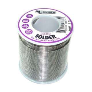 SOLDER WIRE 63/37 REGULAR 1LB 18AWG 0.05IN RA CORE