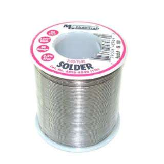 SOLDER WIRE 60/40 REGULAR 1LB 20AWG 0.04IN RA CORE