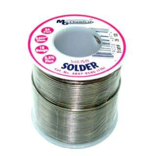 SOLDER WIRE 60/40 REGULAR 1LB 18AWG 0.05IN RA CORE