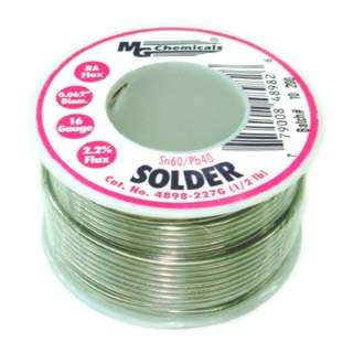 SOLDER WIRE 60/40 REGULAR 1/2LB 16AWG 0.062IN RA CORE
