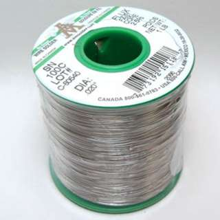SOLDER WIRE LEAD FREE .020IN 1LB NO CLEAN