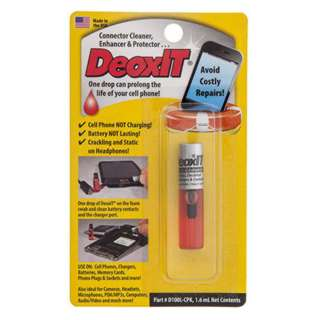DEOXIT CONNECTOR CLEANER 1.6ML ENHANCER & PROTECTOR