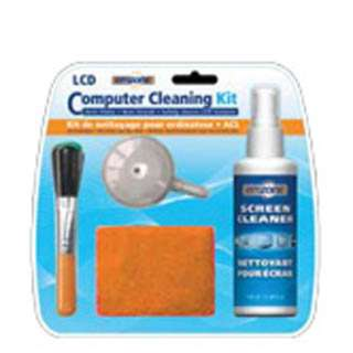 LCD AND COMPUTER CLEANING KIT 125ML MICROFIBRE CLOTH