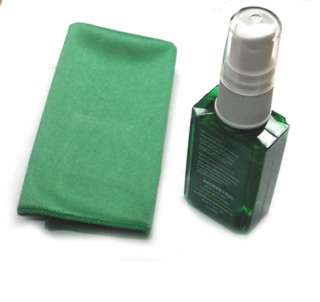 SCREEN CLEANER 34ML W/MICROFIBRE FOR CELL PHONES/PDA