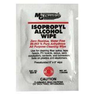 ISOPROPYL ALCOHOL WIPES 5X6INCH 99.95% ALCOHOL
