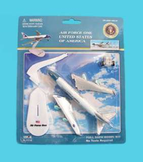 AIR FORCE ONE PULLBACK ACTION TOY