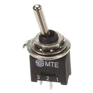 TOGGLE SWITCH 1P1T 3A ON-OFF 125VAC TH SOL 5MM HOLE