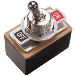 TOGGLE SWITCH 2P2T 3A ON-OFF 125VAC TH SOL W/PLATE 12MM HOLE