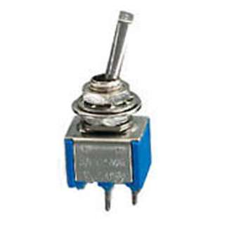 TOGGLE SWITCH 1P1T 6A ON-OFF 125VAC TH SOL FLAT ACTU 6MM HOLE