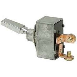 TOGGLE SWITCH 1P1T 35A ON-OFF 12VDC TH SCR FLAT ACTU 12MM HOLE