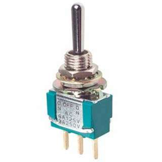 TOGGLE SWITCH 1P2T 5A ON-NONE-ON 125VAC TH PCST 6.25MM HOLE