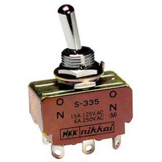TOGGLE SWITCH 1P2T 15A ON-NONE- ON 125VAC TH QT 12MM HOLE