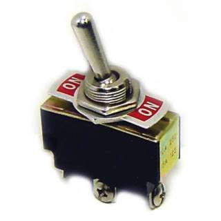TOGGLE SWITCH 1P2T 15A ON-NONE- ON 250VAC TH SCR 12MM HOLE