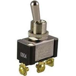 TOGGLE SWITCH 1P2T 20A ON-OFF-ON 125VAC TH SCR 12MM HOLE