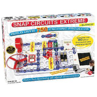 SNAP CIRCUITS - EXTREME - 750 