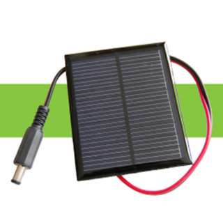 SOLAR CELL 7.2V 100MA 2.7X3.5IN W/2.1MM PLUG TERMINATION