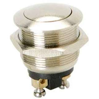 PUSH SWITCH MOM 1P1T NO THR SCR 20MM DOME HEAD 4A 125V