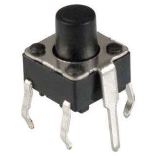 PUSH SWITCH MOM 1P1T NO PCST SQ 