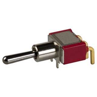 PUSH SWITCH MOM 1P2T NO/NC PCRA UNTHR HORIZONTAL BODY