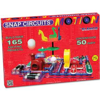 SNAP CIRCUITS - MOTION BUILD OVER 165 PROJECTS