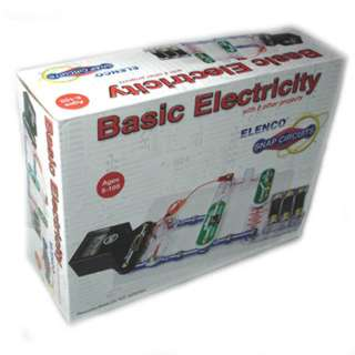 BASIC ELECTRICITY WITH 8 OTHER PROJECTS SNAP CIRCUIT