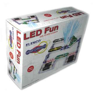 <strong>SCP-11</strong><br>LED FUN WITH 10 OTHER PROJECTS SNAP CIRCUIT