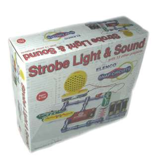 <strong>SCP-14</strong><br>STROBE LIGHT & SOUND WITH 13 OTHER PROJECTS SNAP CIRCUIT