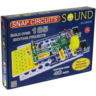 SNAP CIRCUITS - SOUND BUILD OVER 185 PROJECTS 40PCS/KT
