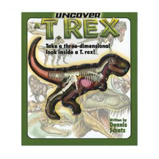 UNCOVER A T-REX BOOK WITH MODEL ELEMENTS