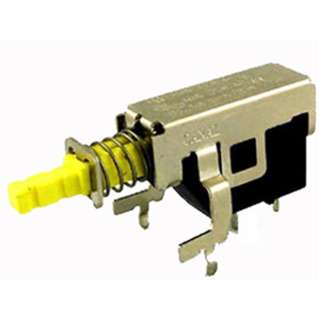 PUSH SWITCH 1P1T ON-OFF PCRA LATCHING 15A 125VAC
