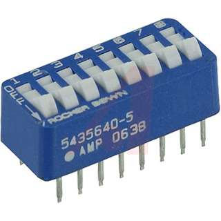 DIP SWITCH ROCKER 8SW 16PIN 